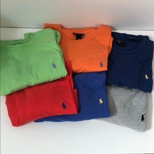 6 Ralph Lauren Short sleeve t-shirts